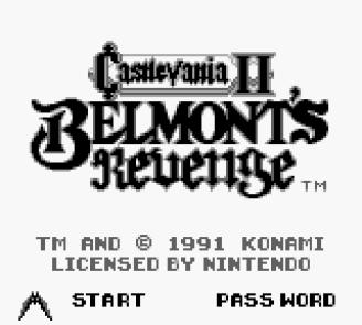 Resultado de imagen para castlevania ii belmont's revenge