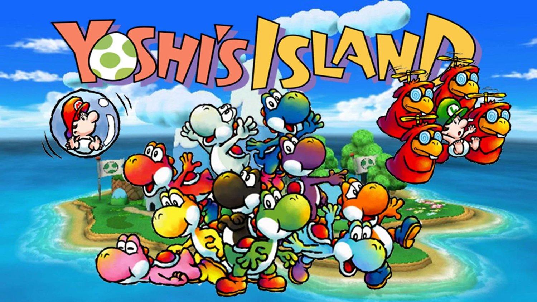 Resultado de imagen para Super Mario World 2: Yoshi's Island