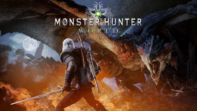 Monster Hunter: World y The Witcher III se unen en una asombrosa colaboración
