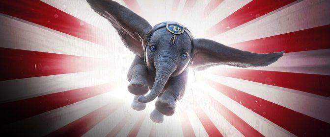 Dumbo. El elefante volador de ojos azules.